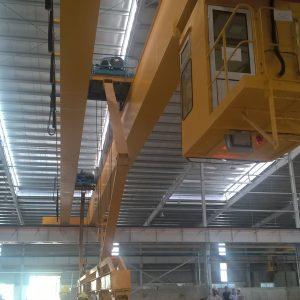 cầu trục dầm đôi 2 tấn