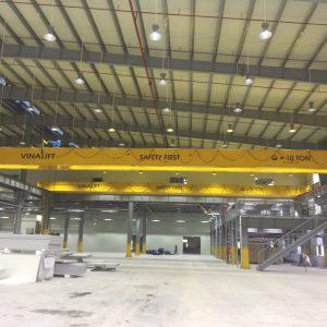 Cầu trục dầm đôi 5 tấn