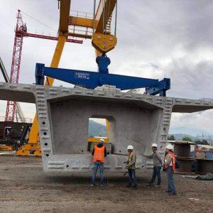 Cổng trục 100 tấn