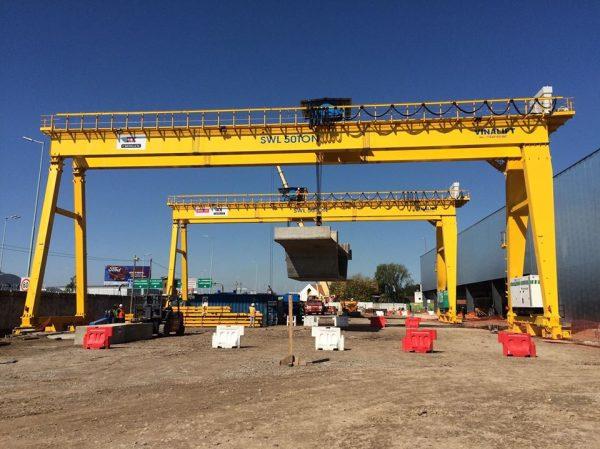 Cổng trục 50 tấn
