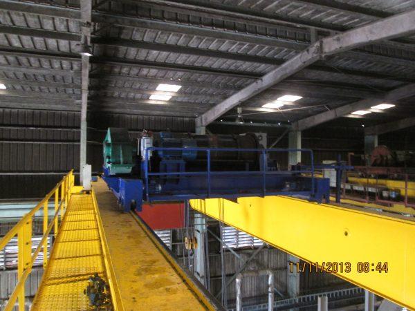 cầu trục dầm đôi 40 tấn