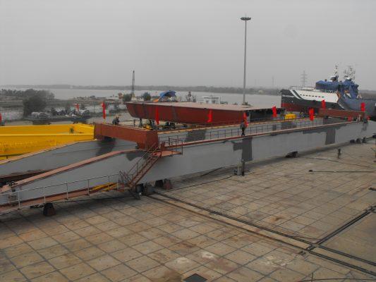 Chế tạo cổng trục 100 tấn