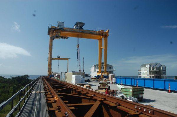 Cổng trục 70 tấn