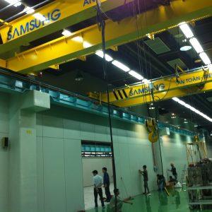 cầu trục dầm đôi 3 tấn