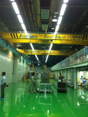 cầu trục dầm đôi 2.8 tấn